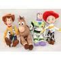 Toy Story 3 Woody Jessie Buzz 30 Cm De Altura Art Importado
