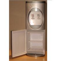 Purificador Agua De Pie C/filtro De 3 Etapas Y Refrigerador