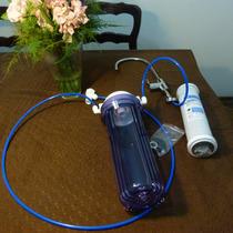 Filtro Agua Bajomesada Con Dos Carcasas Y Canilla