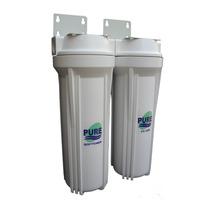 Filtro Purificador De Agua Doble. Elimina Sedimentos Y Cloro