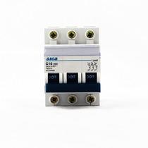 Termomagnética Tripolar Sica 10 Amp Llave Térmica 3x10