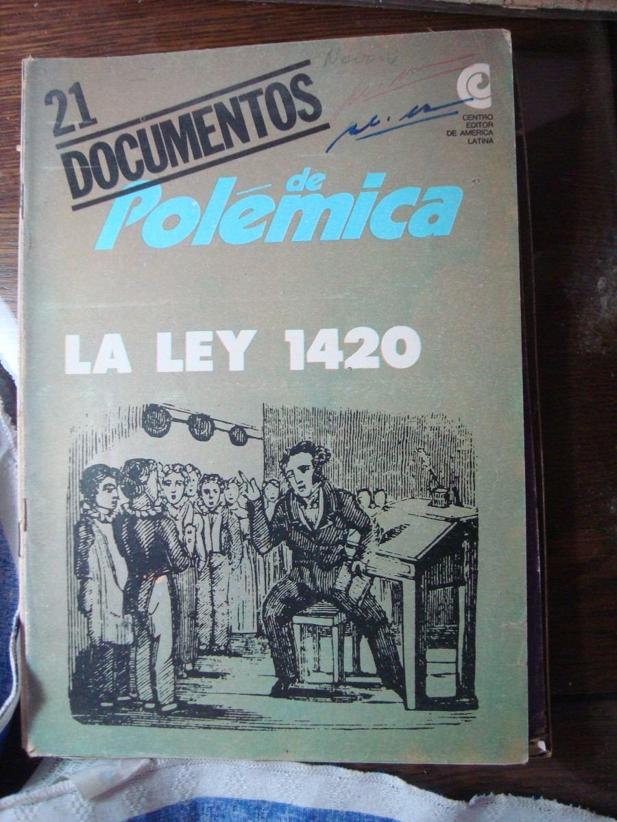 1420 y la ley: