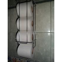 Organizador Portarrollo Papel Higienico Baño Regalar