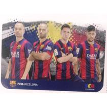 Alfombra Infantil Lic.oficial Barcelona 40 X 60 Cm