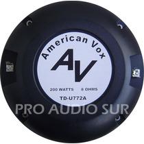 Driver American Vox Av Tdu772a 72mm 200watts 105db Titanio