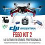 Hexacoptero Dji F550 Futaba Gps Gimbal Gopro Drones Kit 2