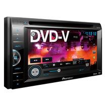 Pioneer Estereo Dvd Avh165 2 Din 6.1 Usb Iphone Rca Itunes