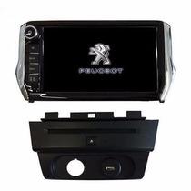 Stereo Dvd Multimedia Peugeot 208 Gps 3d Tv Camara Bt Usb