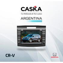 Stereo Caska Honda Crv 2012/6 Dvd Gps Tv Digital Mirror Link