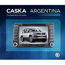 Estereo Vw Amarok Caska - Gps Dvd Bluetooth Tv Ipod Etc