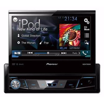 Estereo Dvd Pioneer Avh7750bt Bluetooth Iphone Usb Instalado