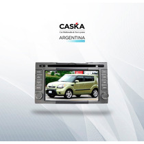Estereo Kia Soul 2009/12 Caska - Gps Dvd Bluetooth Ipod Mp3