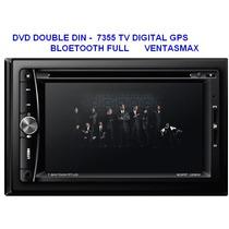 Dvd Double Din -tv Digital Gps Bluetooth Full