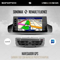 Stereo Gps Garmin Dvd Tv Ipod Usb Renault Megane 3 / Fluence