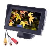 Monitor Pantalla 4.3 Lcd Auto 12v P/ Camara Retrovisor Nuevo