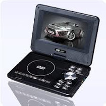 Dvd Portable Pantalla Giratoria De 9,8 Lee Pen Drive Sd Fm