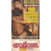 Eroticon Vhs Video 100 Maneras Diferentes De Hacer El Amor