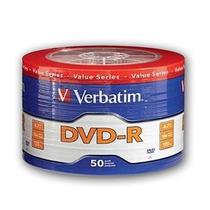 Dvd Virgen Verbatim -r Estampado X50 Unidades.