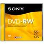 Sony Dmw47r2 Dvd-rw Virgen En Caja Acrilica 4.7gb Cerrados