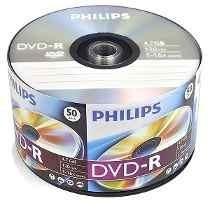 Dvd Virgen Philips Estampado -r 50 Unidades En Gba. Norte