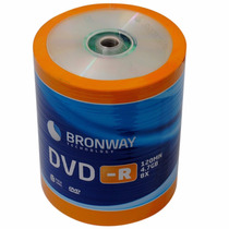 Dvd Virgen Bronway - R X100 Unid. Oferta !