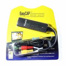 Easycap Capturadora De Video Y Audio Graba Desde La Consola