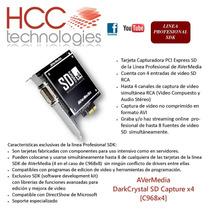 Capturadora Video Darkcrystal Sd Capture X4 Avermedia C968