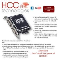 Capturadora Video Darkcrystal Sd Capture X8 Avermedia C968