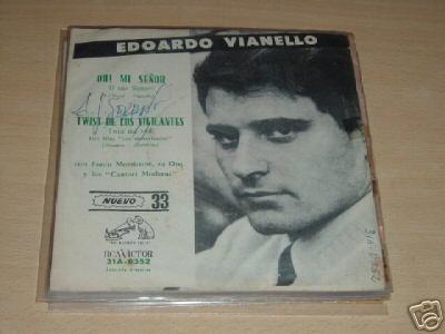 Edoardo Vianello Morricone Oh Mi Señor Vinilo Simple C/ Tapa