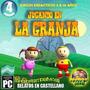 Juegos Educativos En Cd Infantiles Jugando En La Granja