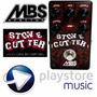 Pedal De Distorsión Mbs Stonecutter Guitarra Y Bajo Nuevos
