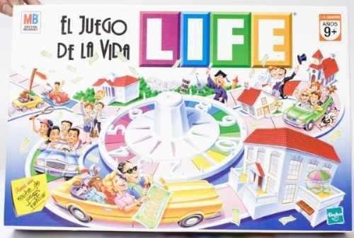 El Juego De La Vida Life Clasico Original Licenciado Hasbro