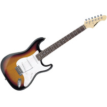 Aria Stg003 Stratocaster Sunburst Guitarra Electrica