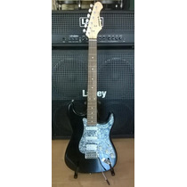 Aria Stg004dx Guitarra Electrica Fat Strat Activo