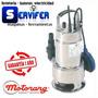 Bomba Sumergible Motorarg Sm 750 P/ Agua Sucia Acero Inox.