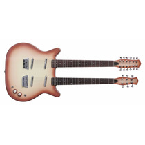 Guitarra Electrica Danelectro Doble Mango 6/12 Cuerdas