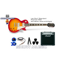 Epiphone Les Paul Standard Pro + Amplificador 15 Marshall +