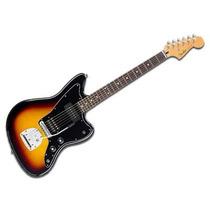 Guitarra Electrica Fender Jazzmaster Blacktop Hs 3ts Mexico