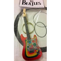 Guitarra Llavero Fender Rocky Stratocaster The Beatles