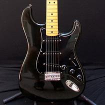 Guitarra Fender Stratocaster Hardtail Usa 1979 Vintage Negra