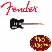 Guitarra Fender Tele Blacktop Mexico Hh 014-8200-506