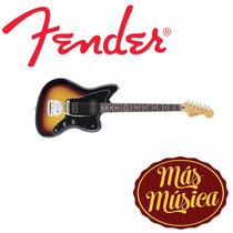 Guitarra Fender Jazzmaster Blacktop Mex Sb 014 - 8400 - 500