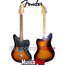 Guitarra Elect Fender Jaguar B90 Blacktop Mex Musica Pilar