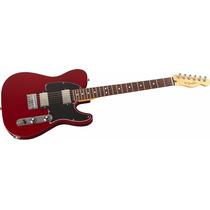 Guitarra Eléctrica Fender Telecaster Blacktop Mexico Hh Roja