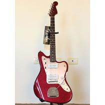 Fender Jazzmaster J Mascis Purple Sparkle (made In Japan)
