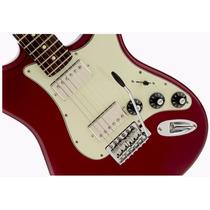 Guitarra Fender Stratocaster Blacktop Mexico, Rwn, Hh, Candy