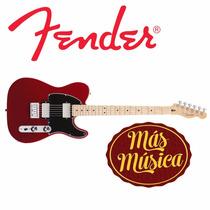 Guitarra Fender Tele. Blacktop Mexico. 014-8202-509