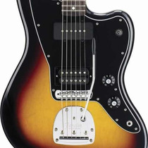 Oferta! Guitarra Fender Jazzmaster Blacktop Mexico, Rwn, Hs