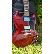 Gibson Sg Standard Cherry Año 2013 Con Funda