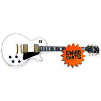 Guitarra Gibson Custom Shop Les Paul Custom Shop 2014 White